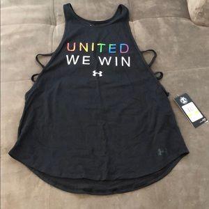 United we win tank top
